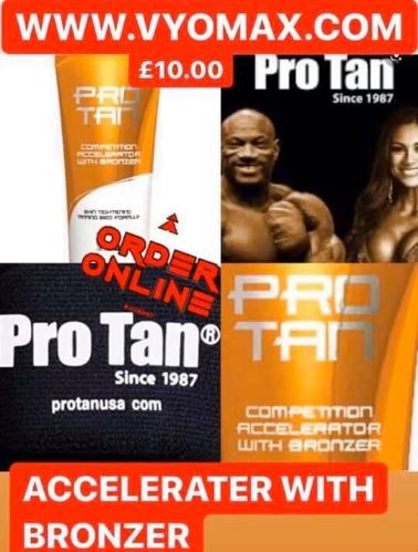PRO TAN ACCELERATER WITH BRONZER